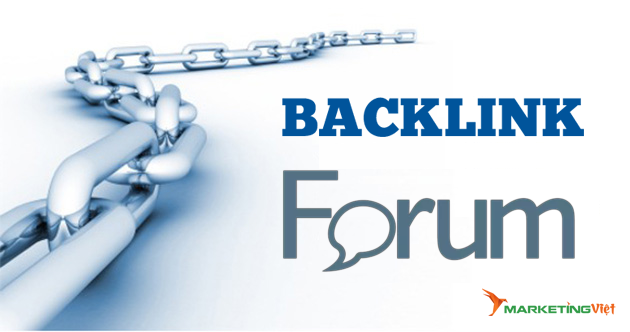 Backlink từ Forums