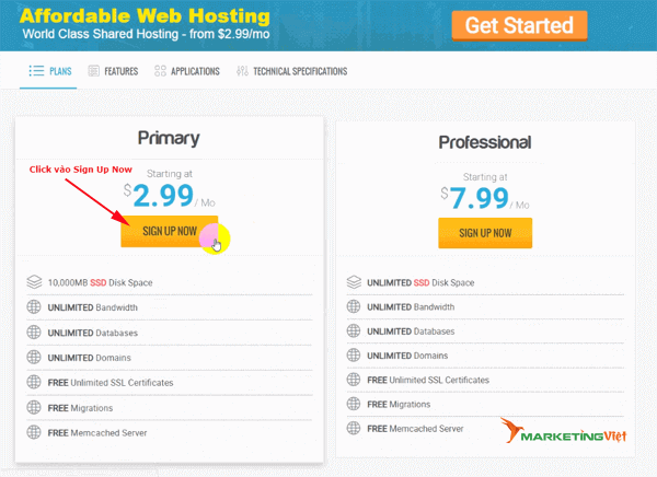Mua Hosting HawkHost - Shared Hosting