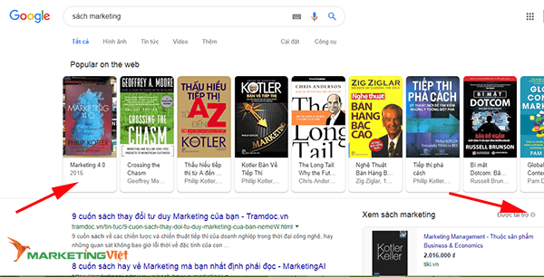 Quảng cáo Google Shopping Ads - Marketing Việt